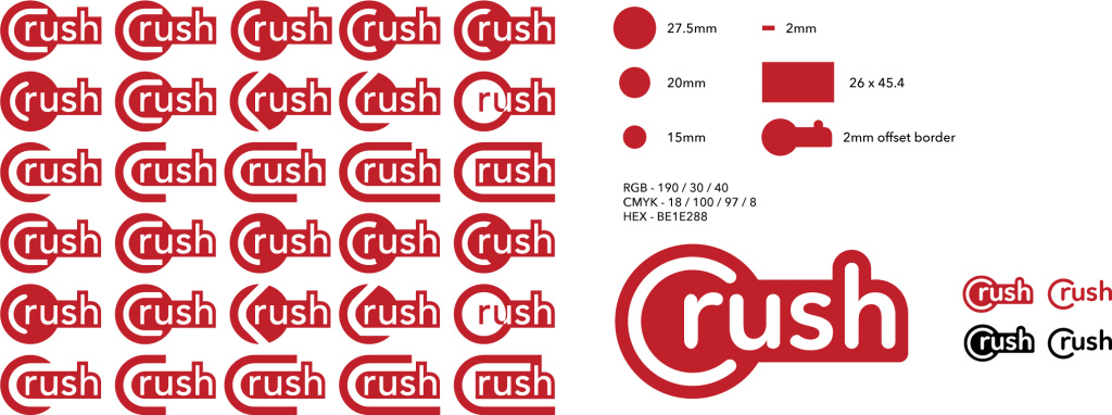 Crush logo development