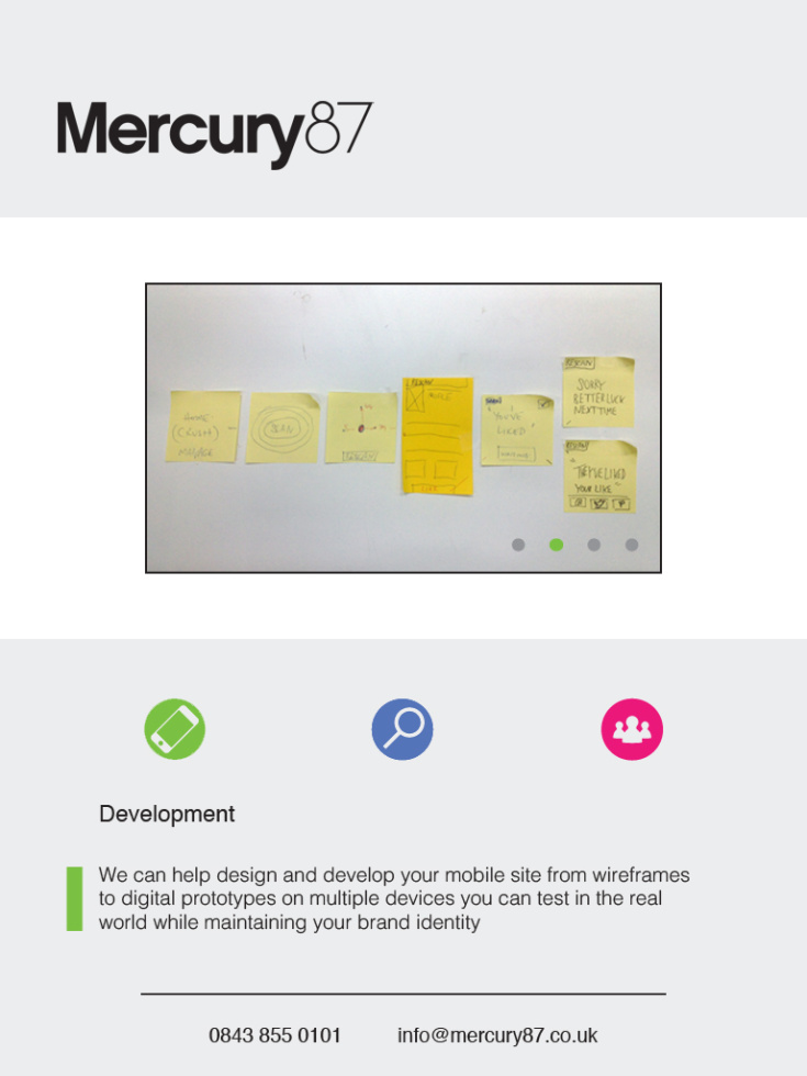 Mercury 87 - iPad (development)