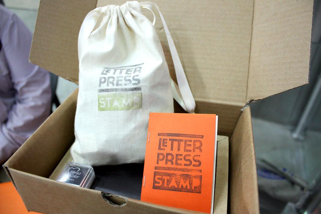 letterpress stamp - complete 1