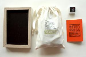 letterpress stamp - complete 2