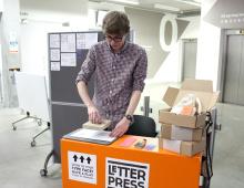 letterpress stamp - thumbnail