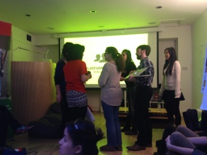 Webvisions - London Hackathon for Social Good - Pitching