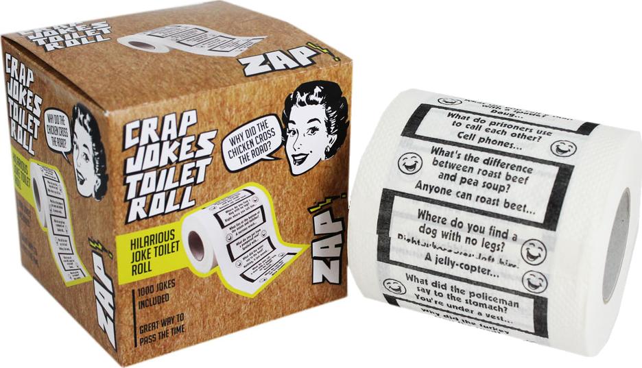 Crap Joke Toilet Roll - Christian Harries