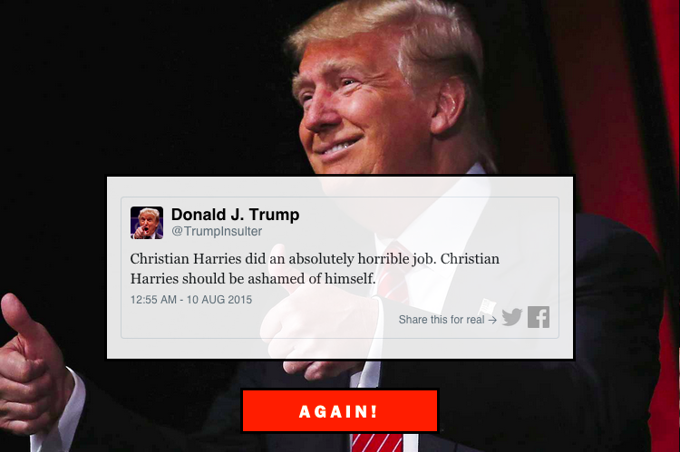 Donald Trump Insult Generator | Christian Harries