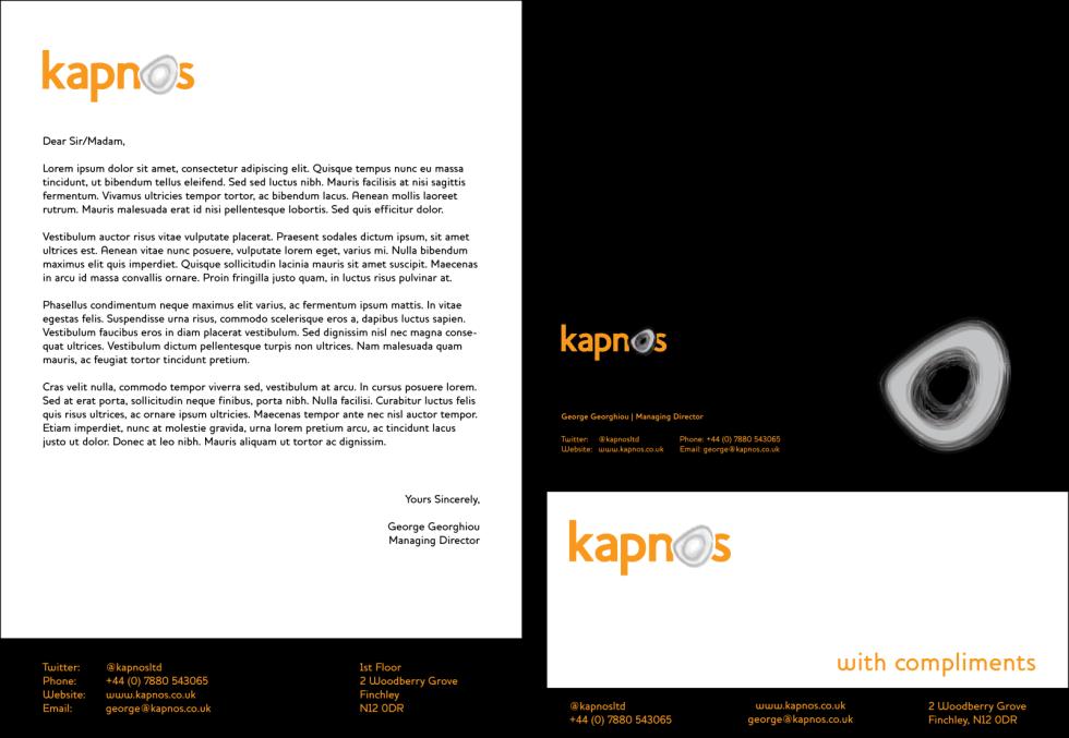 kapnos - brand